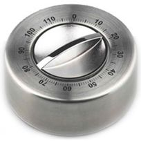 Gsd - minuteur mécanique inox 120mn - 80147