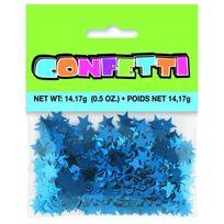 Unique Party - Confettis de table étoiles bleues 14 g
