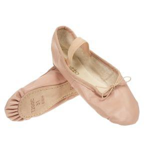 Repetto - Chaussons de danse Demi pointe cuir rose Rose 45067 35