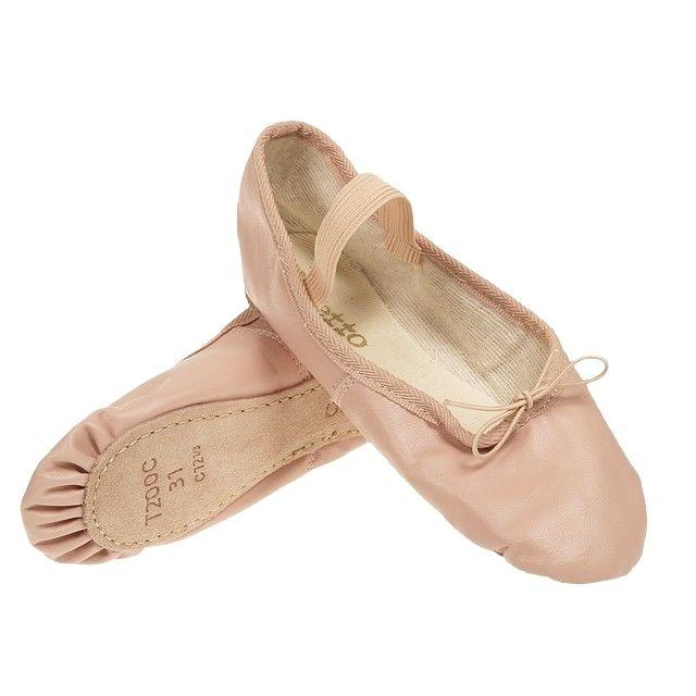 Repetto - Chaussons de danse Demi pointe cuir rose Rose 45067