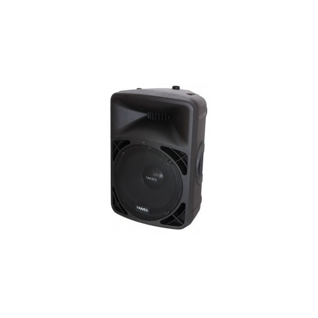 Ibiza Sound Enceinte professionnelle sono amplifiee 15-38cm 400w avec usb-mp3