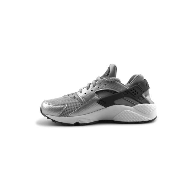 Nike - Wmns Air Huarache Run Gris Loup 634835-014 - pas cher Achat   Vente  Baskets femme - RueDuCommerce 062e41d74d1b