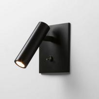 Astro - Applique encastrable Enna carrée Led - Interrupteur - Noir