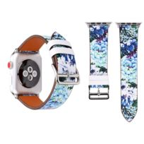 893a57d0cb61 Wewoo - Bracelet bleu pour Apple Watch Series 3   2   1 38mm Mode Véritable
