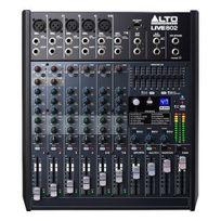 Alto Professional - Live802 - 8 Canaux table de mixage 2 bus