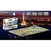 4D Cityscape - Puzzle 4D Paris