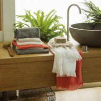 serviettes de bain jalla achat serviettes de bain jalla pas cher rue du commerce. Black Bedroom Furniture Sets. Home Design Ideas
