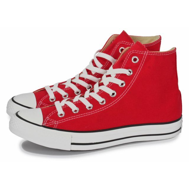 Converse - Chuck Taylor All-star Hi Rouge - pas cher Achat ...