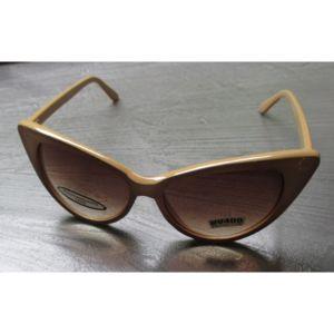 hotrodspirit - lunette de soleil femme cat eye rond leopard pin up rockab HSrmr