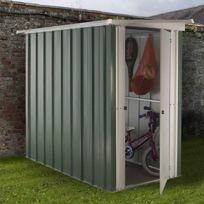 - Abri Métal 1,90 m², portes : L60 x H158cm