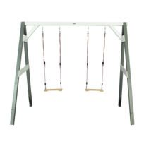 AXI - Portique Double Swing gris