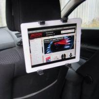 Motionperformance Essentials - Porte-tablette/lecteur Dvd/iPad inclinable et pivotant pour appuie-tête Noir