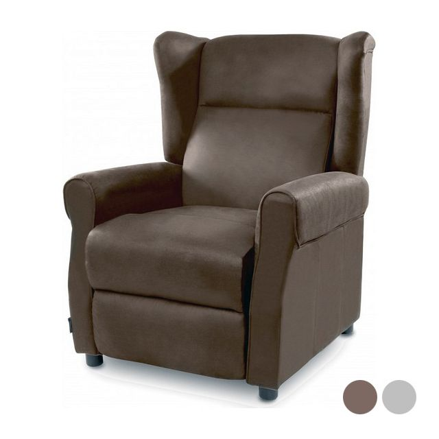 Icaverne Moderne Couleur Marron fauteuil de relaxation massant cecotec copenhague