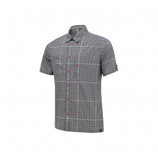 Millet Chemise Castle Peak Stretch Smoked Pearl