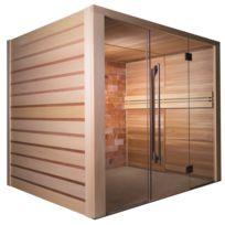 France Sauna - Sauna Traditionnel Alto Sel Avec Mur De Sel