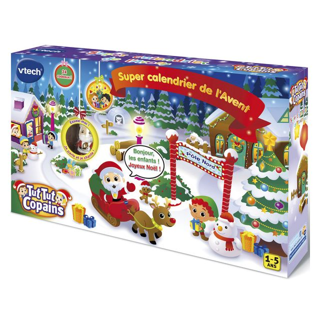 VTECH Tut Tut Copains - Super Calendrier du père Noël