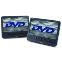 Takara Lot De 2 Lecteurs Dvd Portable Vrt179 Noir
