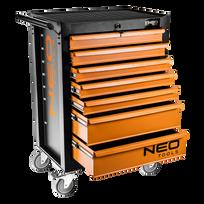 Neo Tools - Servante d'atelier vide 7 tiroirs 84-222