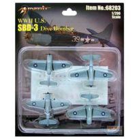 Merit - Maquette Avions Militaires : Sbd-3 Dauntless