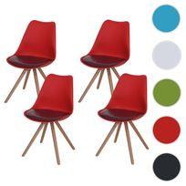 Agreable Mendler   4x Chaise De Séjour/salle à Manger Malmö T501 / Design Rétro ~