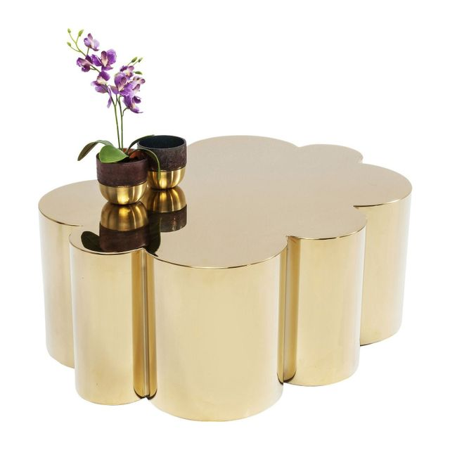 Karedesign Table basse Gold Rush Cloud 35cm Kare Design