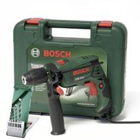 Bosch - Perceuse à percussion 550W / 230V - mandrin autoserrant - Boite 4 forets offerts - coffret