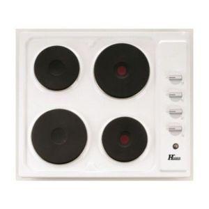 hudson table de cuisson lectrique tco403 2b blanche. Black Bedroom Furniture Sets. Home Design Ideas