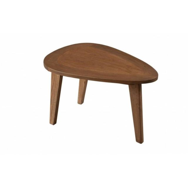 Inside 75 Table Basse Fancy en Bois Teinte Naturelle Style Scandinave