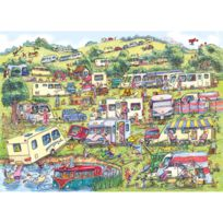 Gibsons - Puzzle 1000 pièces : Un site pour les caravanes