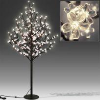 Rocambolesk - Superbe Cerisier Arbre Cerise Fleurs Led lumineux Lampe 220cm Neuf