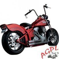 Honda - Harley Davidson Flst-fxs-87/11-SILENCIEUX Echappement Python Throwbacks-1800-1314