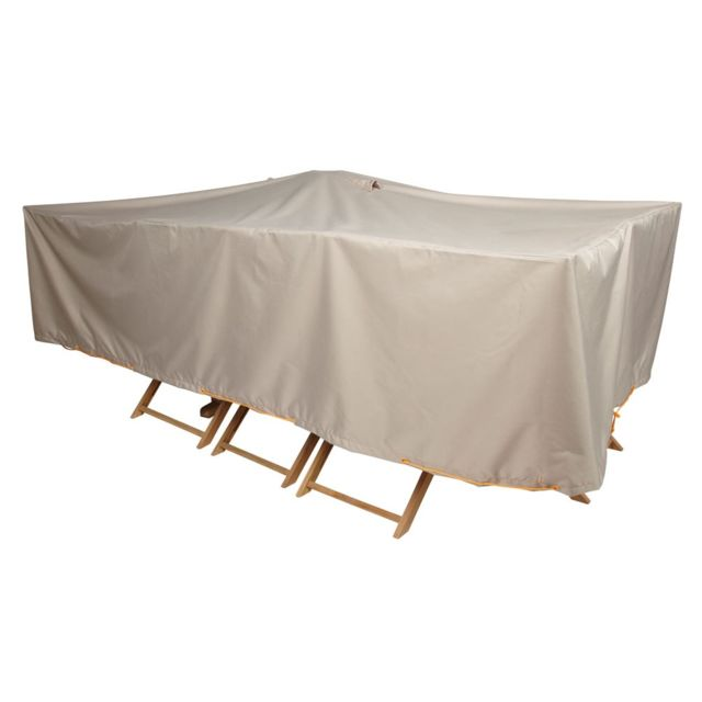 Innovaxe housse de protection pour salon 310 cm no pas - Housse de protection pour salon de jardin rond ...