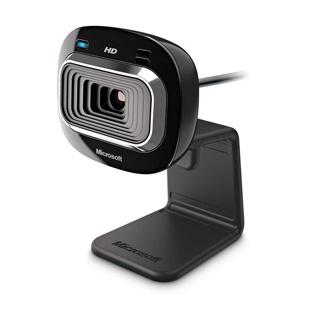 MICROSOFT Webcam LifeCam HD-3000 Webcam - couleur noire - Micro intégré - 1280 x 720 - USB 2.0