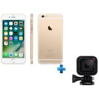 GOPRO - iPhone 6 - 16 Go - Or - Reconditionné + Caméra Sport - Hero Session - Reconditionné