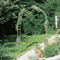 Provence Outillage - Gloriette métal verte hauteur 230 cm