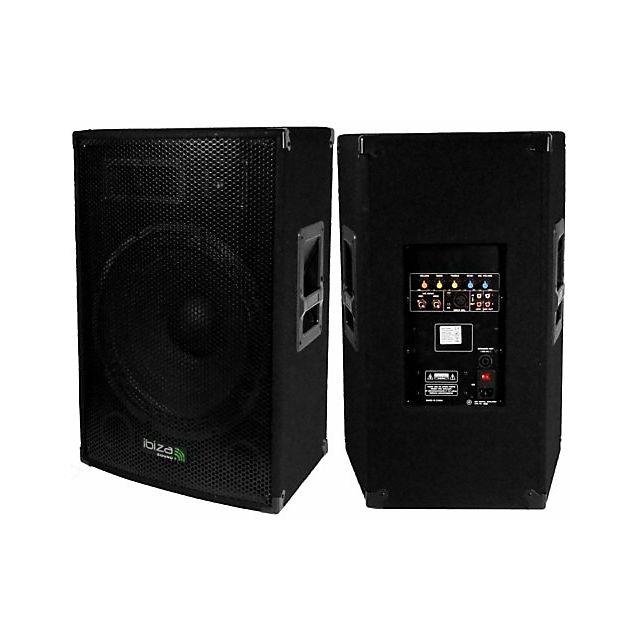 Ibiza Sound DISCO-15-AMP - Enceinte amplifiée 800 W