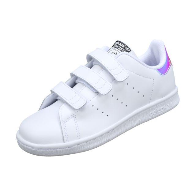 Adidas Stan Smith Cf C Aq6273 Blanc pas cher Achat