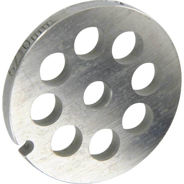 Reber Grille inox Pour hachoir électrique ou manuel n°5 Trou 10mm