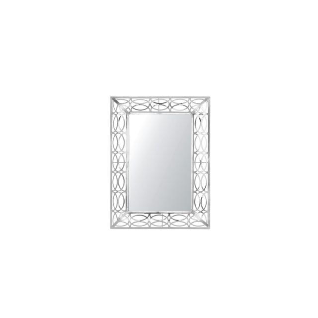 BELIANI Miroir argenté MALPAS - argent