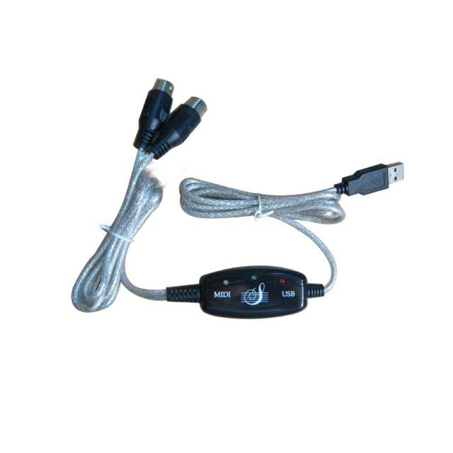 Câble USB Cabling Midi cable usb pour clavier musical