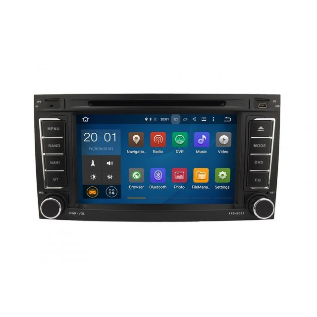auto hightech autoradio gps bluetooth volkswagen touareg multivan transporter android 5 1. Black Bedroom Furniture Sets. Home Design Ideas