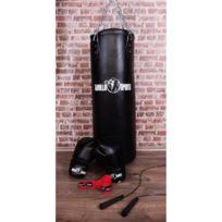 597ac0a4ff Gorilla Sports - Starter Boxe Pack 6 articles - Sac de frappe - Gants de  boxe