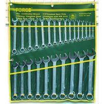 Force - Cles Mixtes De 6 à 32 mm - Trousse De 26 Cles