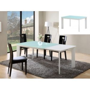 Marque generique table extensible arielle 6 8 for Table haute 6 couverts