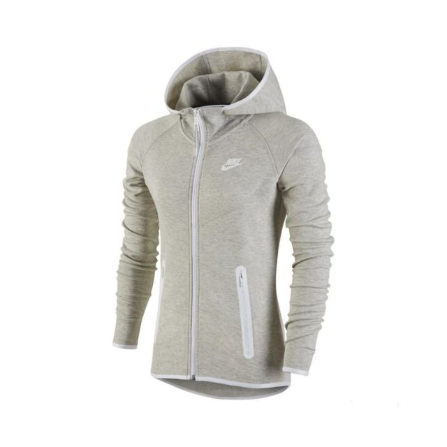 Nike - Sweat Tech Fleece Full-Zip Hoodie - 657859-050 - pas cher Achat    Vente Sweat femme - RueDuCommerce 7403206cef43