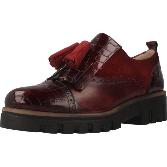 Vitti Love Mocassins et chaussures bateau femme 862 528, Bordeaux