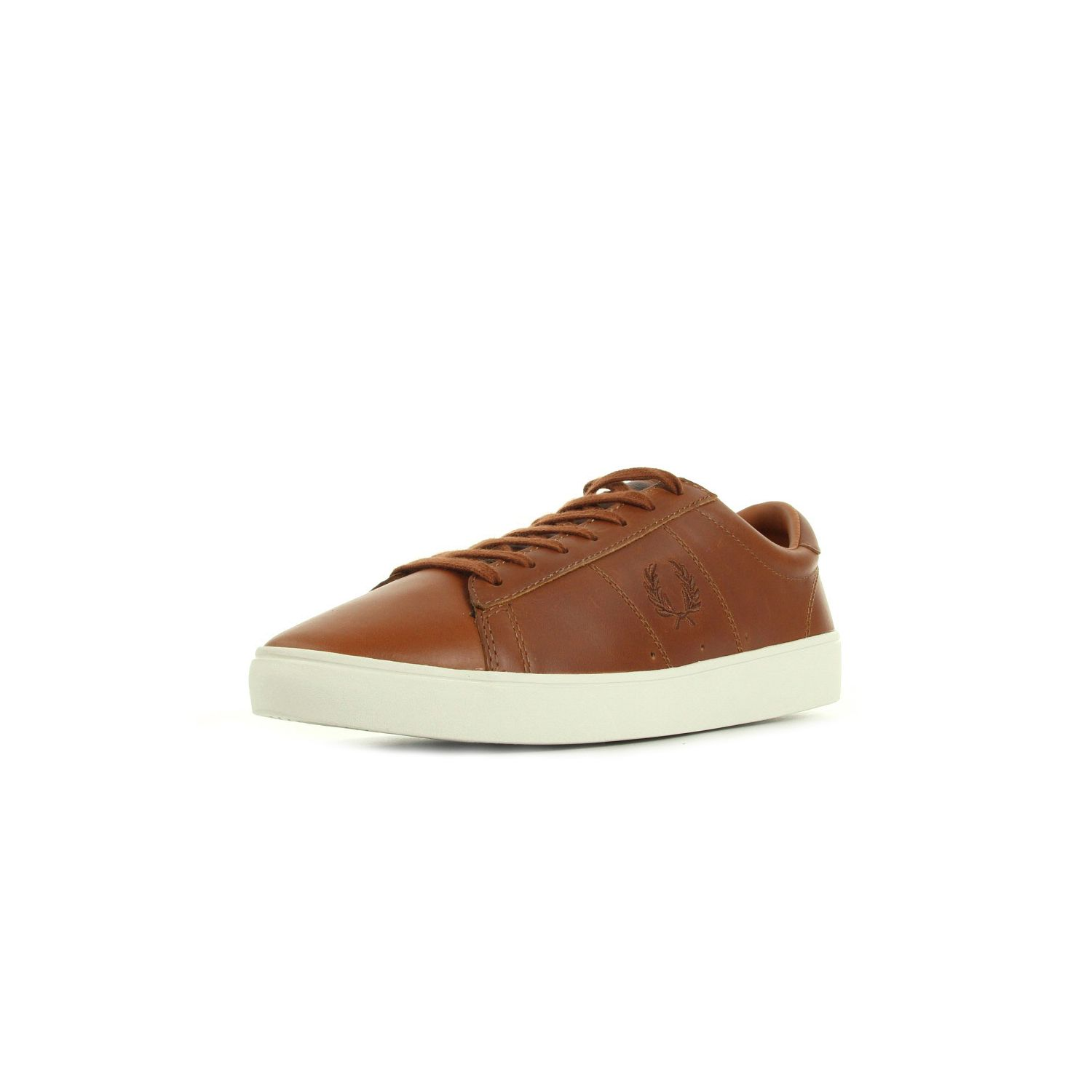 Fred Perry - Spencer Leather Tan Marron - 45 - pas cher Achat ... 8bfbec88caab