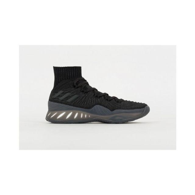 code promo c0e34 8f5b2 Chaussure de Basketball Crazy Explosive Primeknit 2017 Triple Black Noir  pour homme Pointure - 40