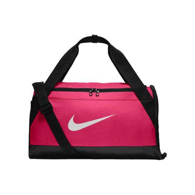 Nike Sac de sport Brasilia Small Duffel rose pas cher