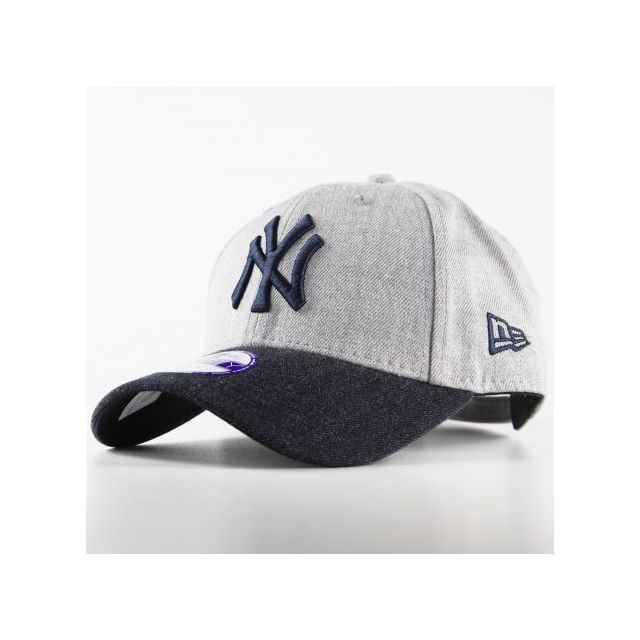 New Era Cap - Casquette Adolescent New Era 940 New York Yankees 9Forty  Heather Team Gris Youth - pas cher Achat   Vente Casquettes enfant -  RueDuCommerce 429a5fc7133